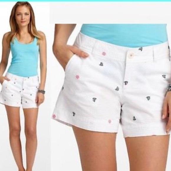 769af72733f3f8 Lilly Pulitzer Shorts | Callahan Resort White 8 | Poshmark